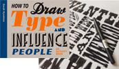 Cover of 'How to Draw Type and Influence People', a book by Sarah Hyndman