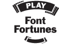 Play Font fortunes