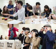 Typography workshops and Type Tasting events are commissioned by organisations