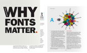 Cover of 'Why Fonts Matter', a book by Sarah Hyndman